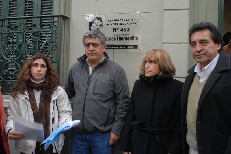 Creación del cens n 453 Carlos Fuentealba
